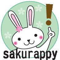 桜のイメージキャラクター『sakurappy』